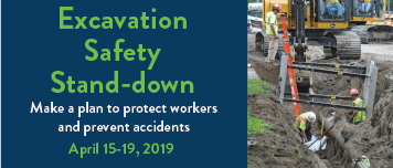 Excavation safety stand-down